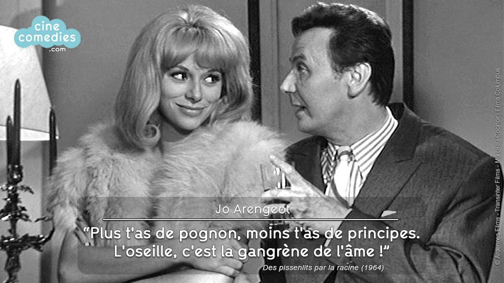 Des pissenlits par la racine (Georges Lautner, 1964) - réplique 1