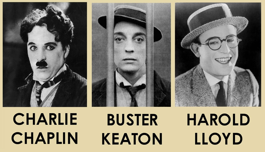 Charlie Chaplin - Buster Keaton - Harold Lloyd / Le Burlesque, l'art de l'échec