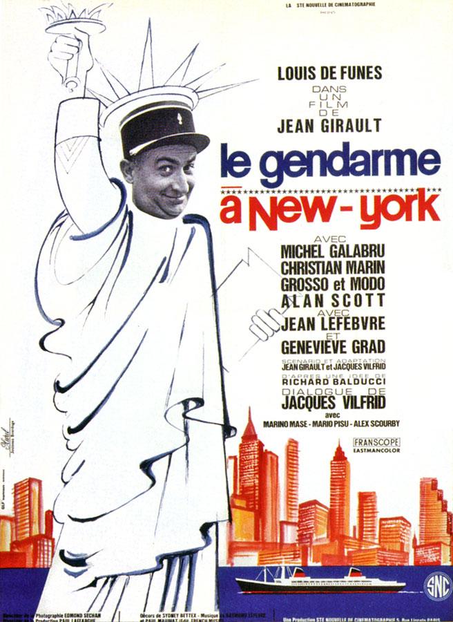 Le Gendarme à New York (Jean Girault, 1965)