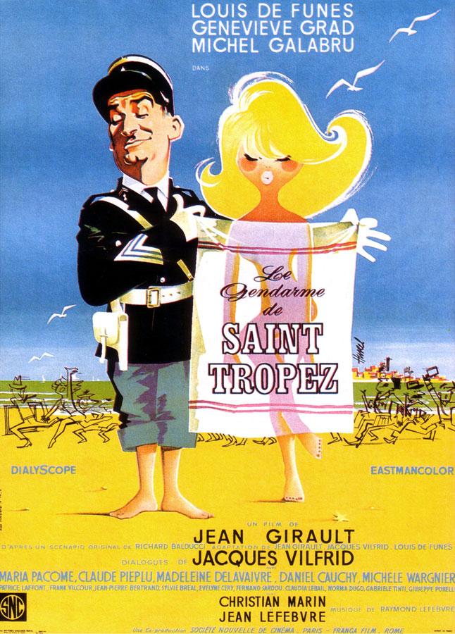 Le Gendarme de Saint-Tropez (Jean Girault, 1964)