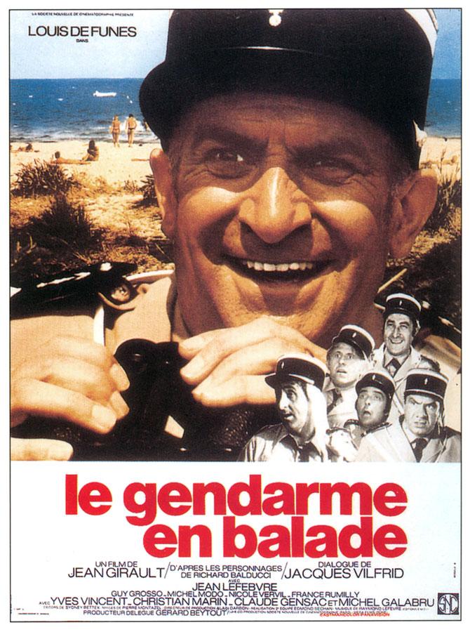 Le Gendarme en balade (Jean Girault, 1970)