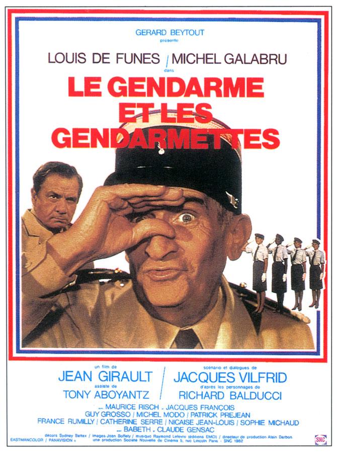 Le Gendarme et les gendarmettes (Jean Girault, 1982)