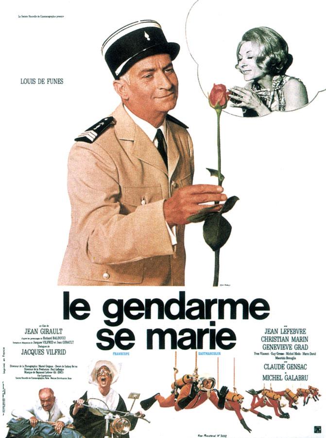 Le Gendarme se marie (Jean Girault, 1968)