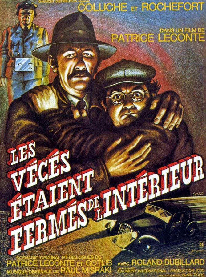 Les Vécés étaient fermés de l'intérieur (Patrice Leconte, 1976)