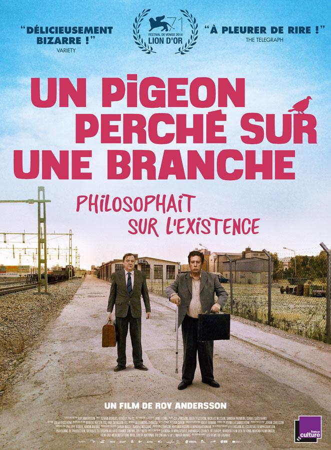 Un pigeon perché sur une branche philosophait sur l'existence (Roy Andersson, 2015)