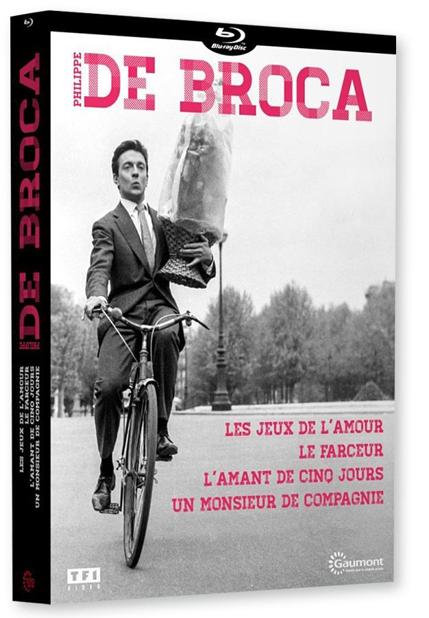 Coffret Blu-ray Philippe de Broca