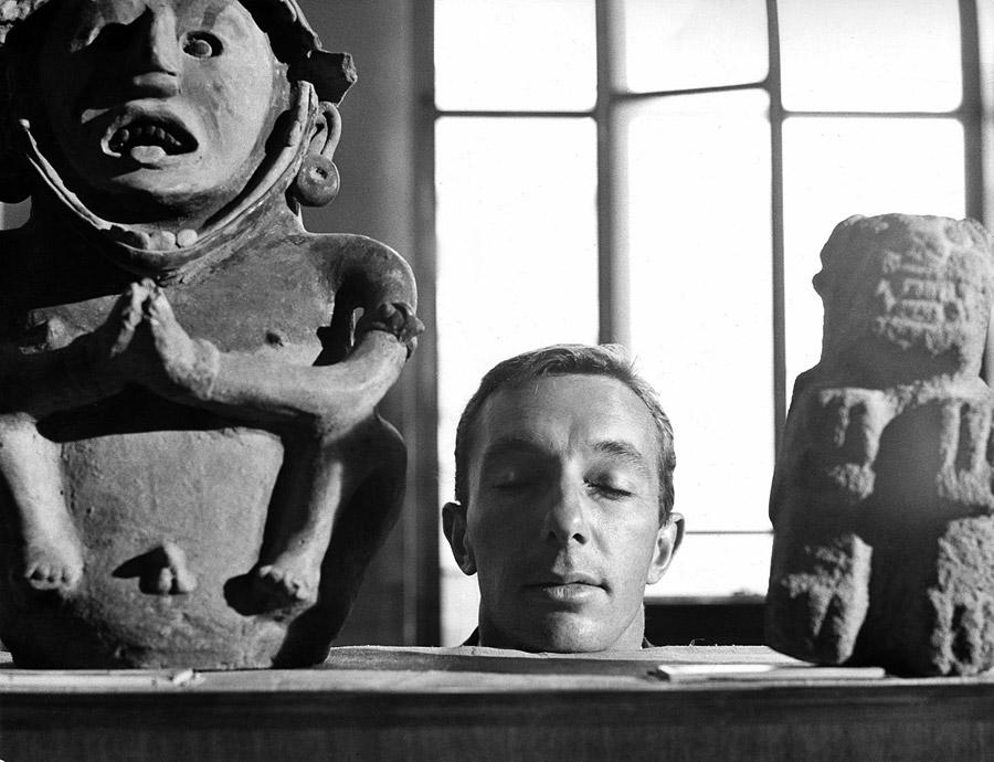 Philippe de Broca sur le tournage de L'Homme de Rio (1964) - © Alex Productions