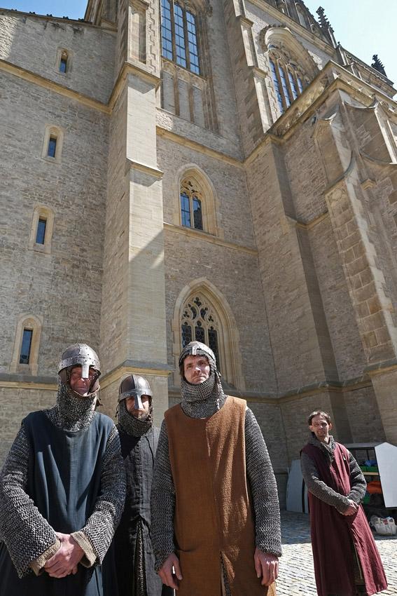 Tournage des Visiteurs 3 / © 2015 Kutnohorské listy - Jan Šmok