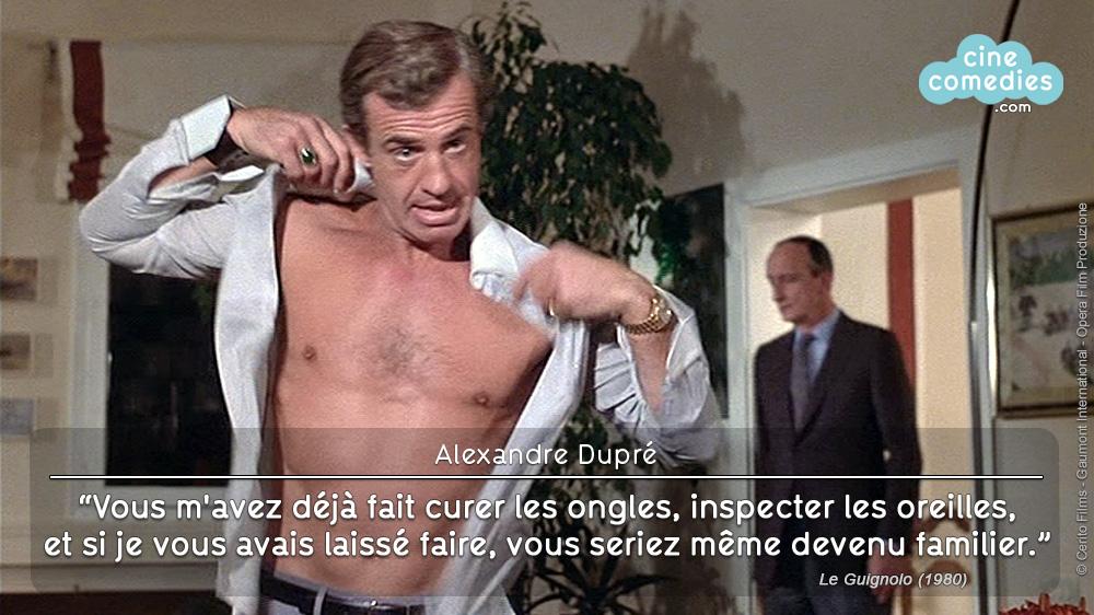 Le Guignolo (Georges Lautner, 1980) - réplique 1