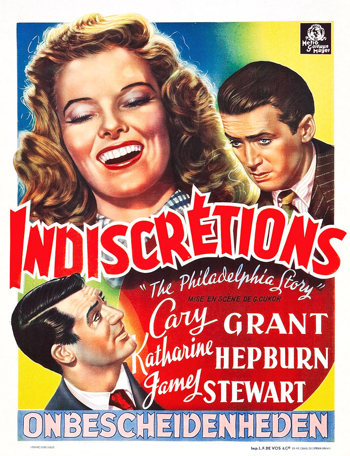 Indiscrétions (George Cukor, 1940)