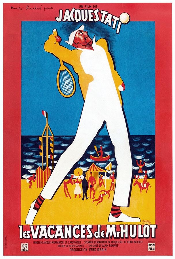 Les Vacances de Monsieur Hulot (Jacques Tati, 1953)