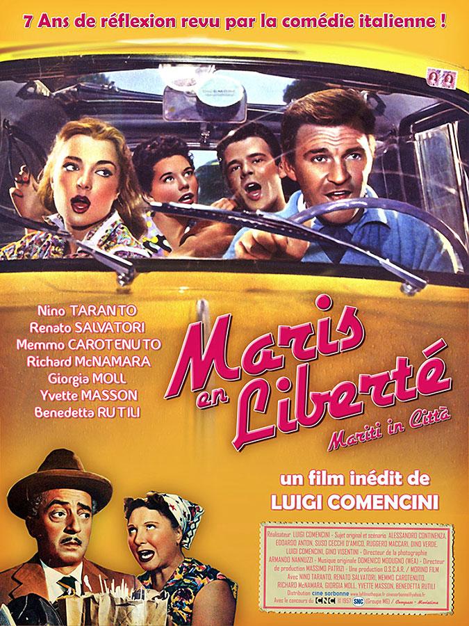 Maris en liberté (Mariti in Città) de Luigi Comencini (1957)