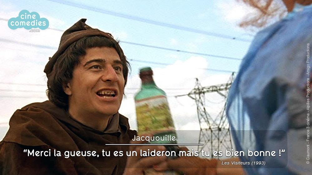Les Visiteurs (Jean-Marie Poiré, 1993) - réplique 1