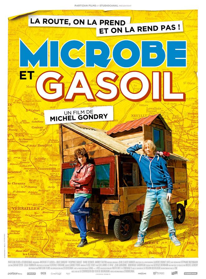 Microbe et Gasoil (Michel Gondry, 2015)