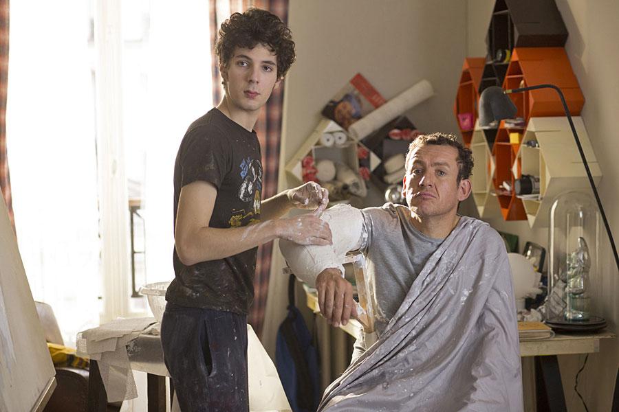 Vincent Lacoste et Dany Boon dans Lolo (Julie Delpy, 2015)