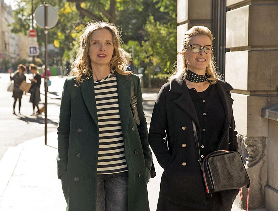 Julie Delpy et Karin Viard dans Lolo (Julie Delpy, 2015)
