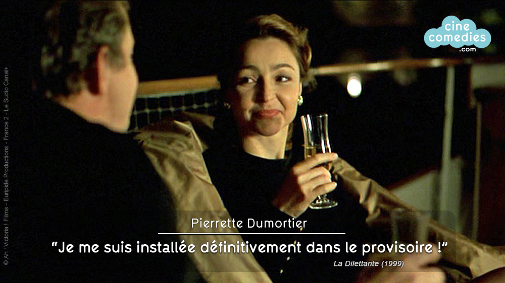 La Dilettante (Pascal Thomas, 1999) - réplique 1