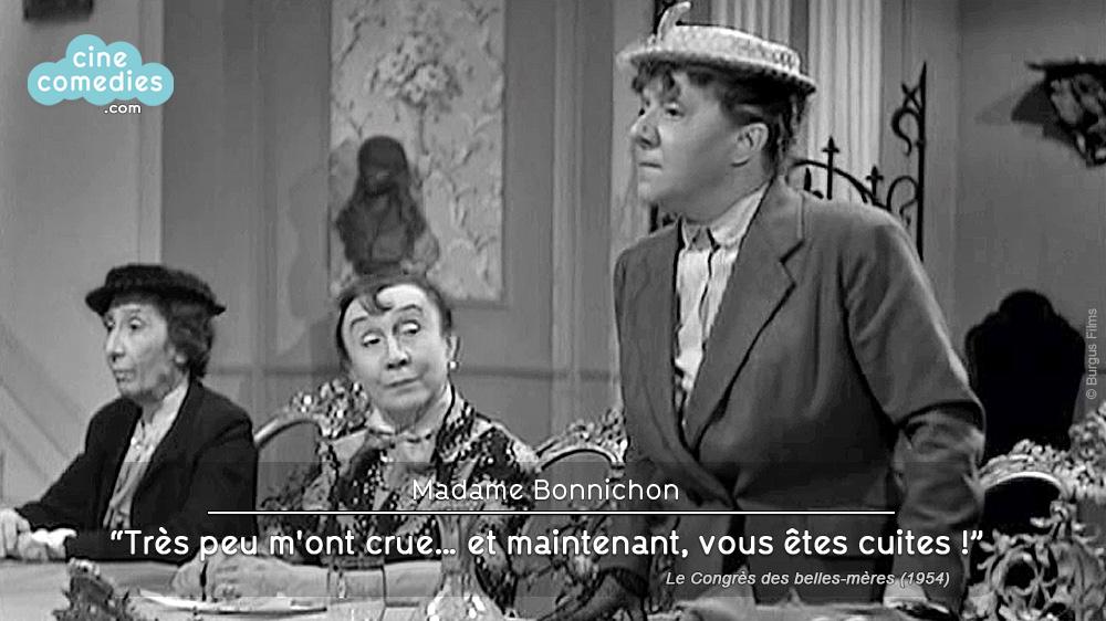Le Congrès des belles-mères (Émile Couzinet, 1954) - réplique 1