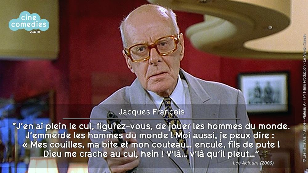 Les Acteurs (Bertrand Blier, 2000) - Réplique 1