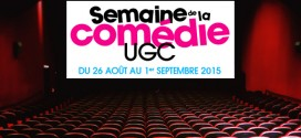 Semaine de la Comédie UGC 2015
