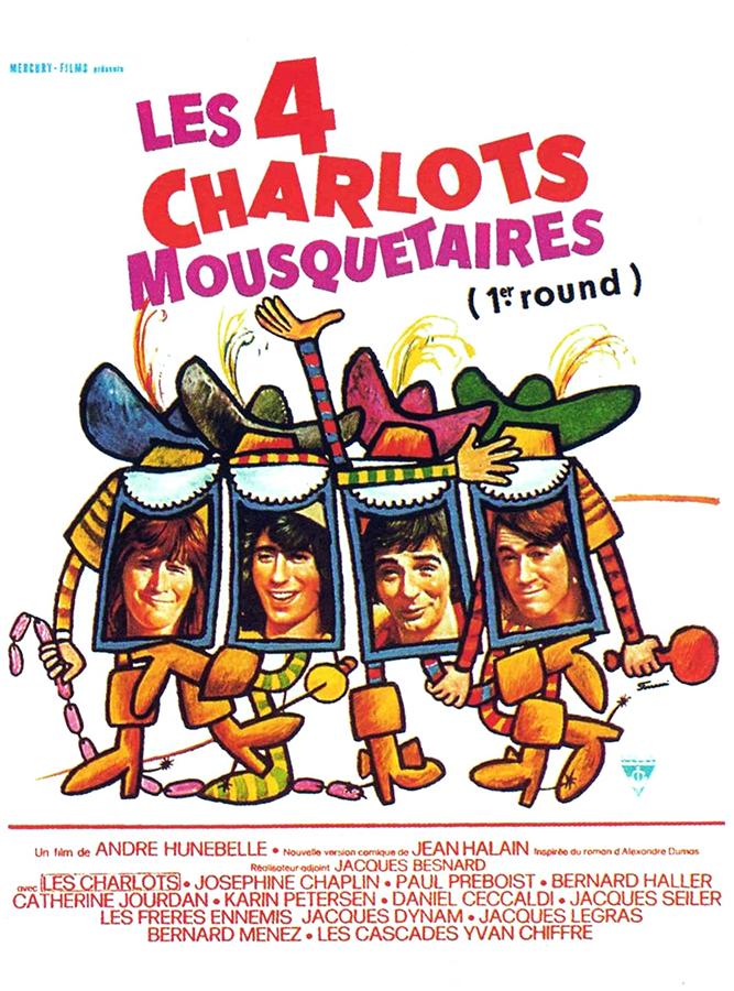 Les 4 Charlots mousquetaires (André Hunebelle, 1974)