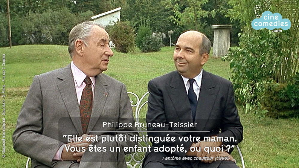 Fantôme avec chauffeur (Gérard Oury, 1996) - réplique 1