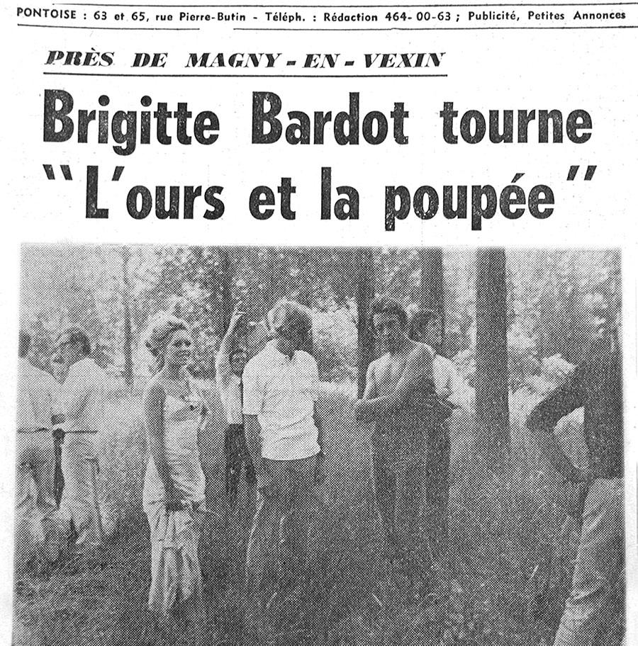 """Article paru dans """"L'Avenir de l'Île-de-France"""" (juin 1969)"""