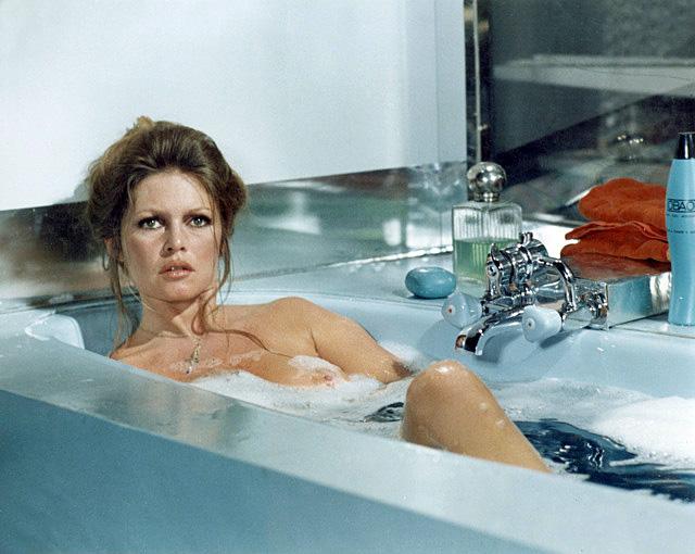 Brigitte Bardot dans L'Ours et la poupée (Michel Deville, 1969)