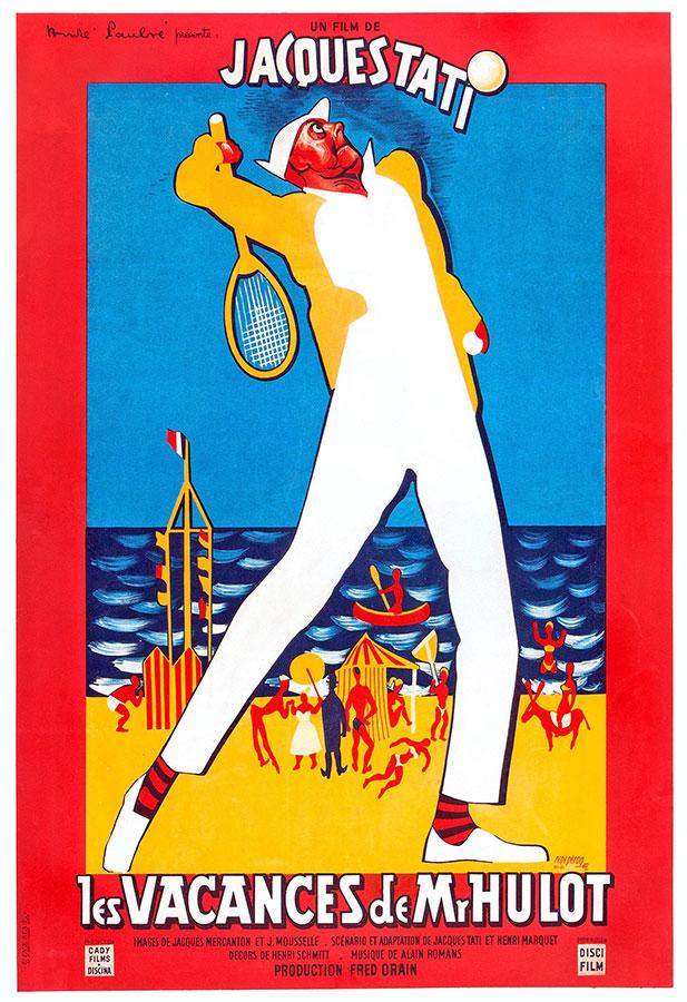 Les Vacances de Mr Hulot (Jacques Tati, 1953)