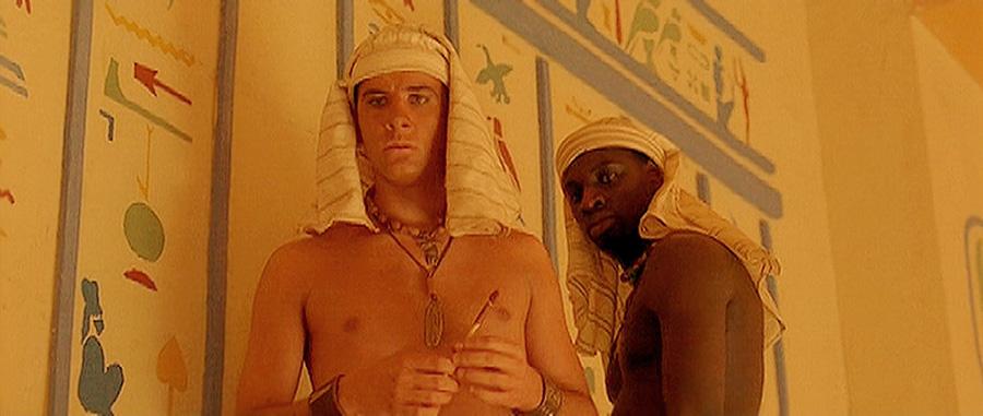 Fred Testot et Omar Sy dans Astérix et Obélix : Mission Cléopâtre (Alain Chabat, 2002)