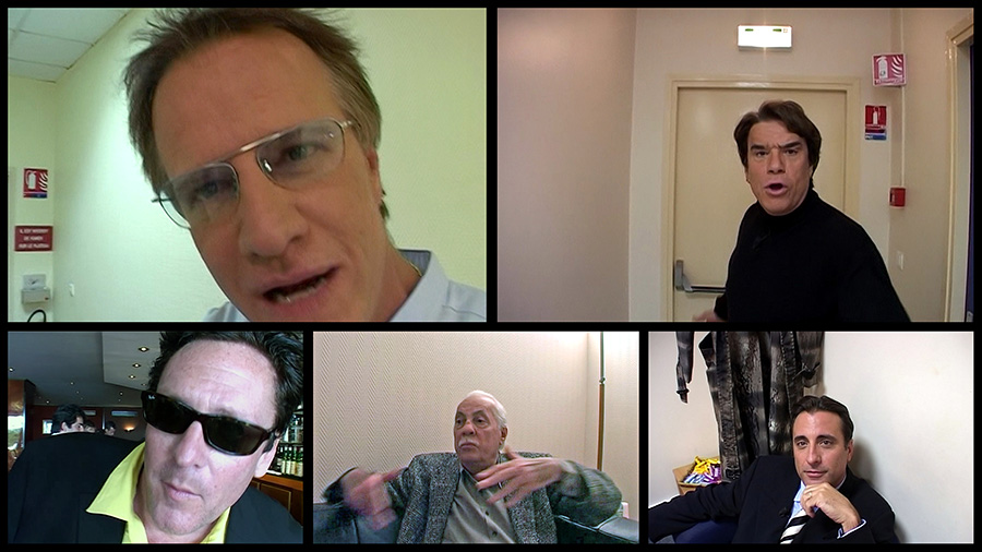 Christophe Lambert, Bernard Tapie, Michael Madsen, Michel Serrault, Andy Garcia dans Les Clefs de Bagnole (Laurent Baffie, 2003)