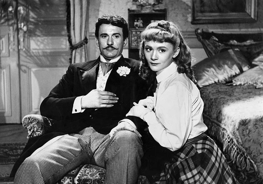 Franck Villard et Danièle Delorme dans Gigi (Jacqueline Audry, 1949)