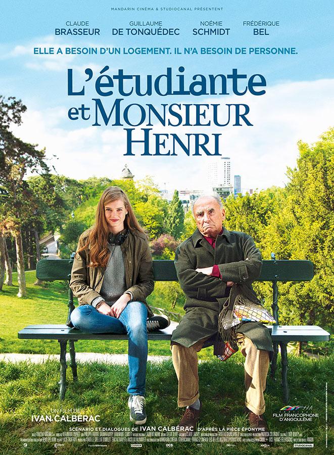 L'Étudiante et Monsieur Henri (Ivan Calbérac, 2015)