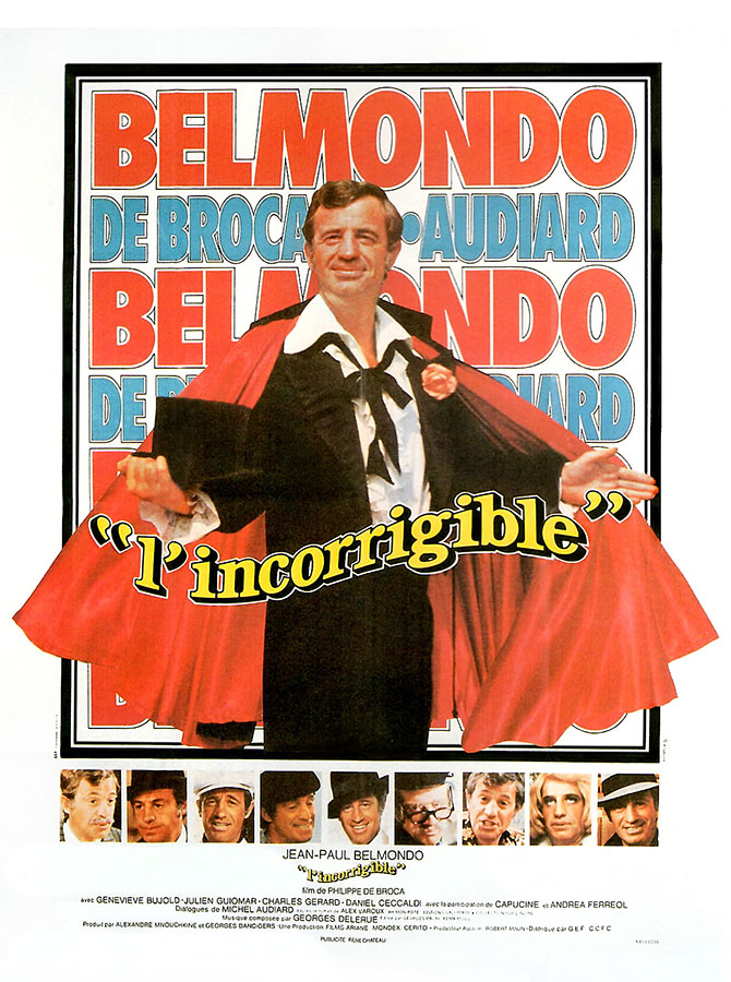 L'Incorrigible (Philippe de Broca, 1975)