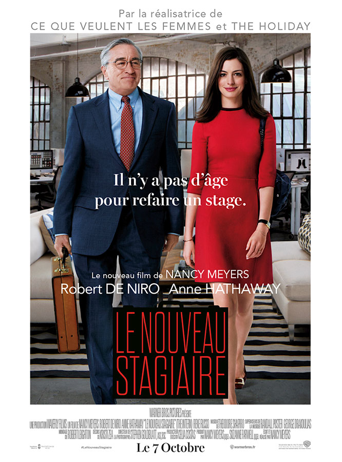 Le Nouveau stagiaire (Nancy Meyers, 2015)