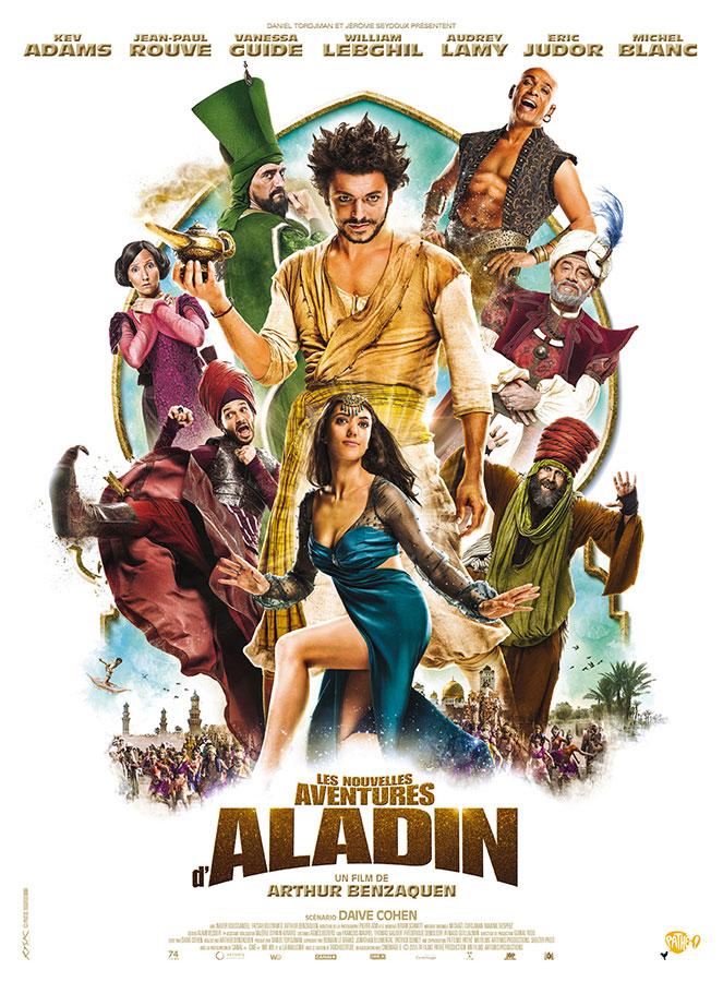 Les Nouvelles aventures d'Aladin (Arthur Benzaquen, 2015)