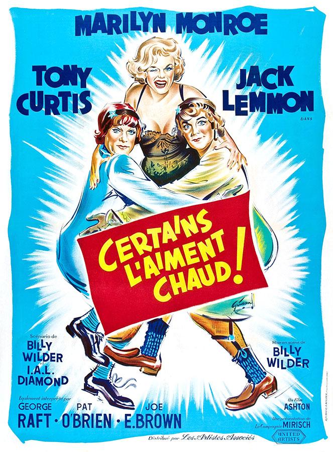 Les 101 meilleures comédies selon Hollywood / Certains l'aiment chaud (Billy Wilder, 1959)