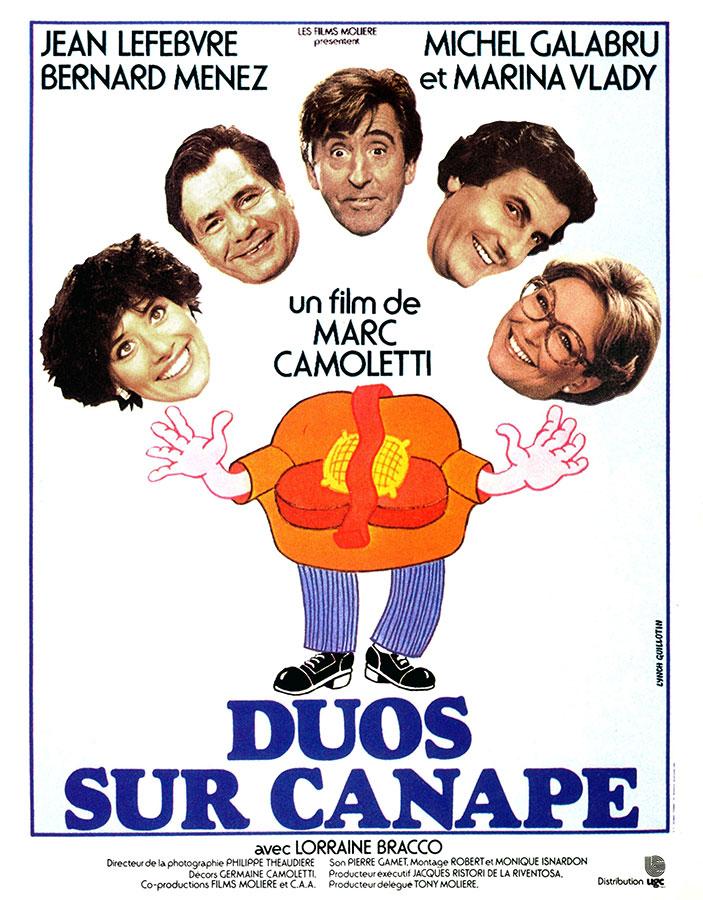 Duos sur canapé (Marc Camoletti, 1979)