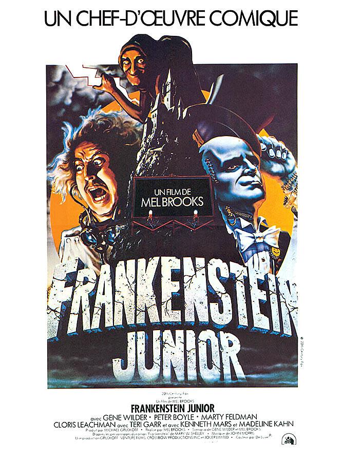Les 101 meilleures comédies selon Hollywood / Frankenstein junior (Mel Brooks, 1974)