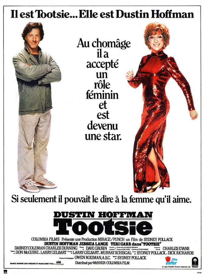 Les 101 meilleures comédies selon Hollywood / Tootsie (Sydney Pollack, 1982)