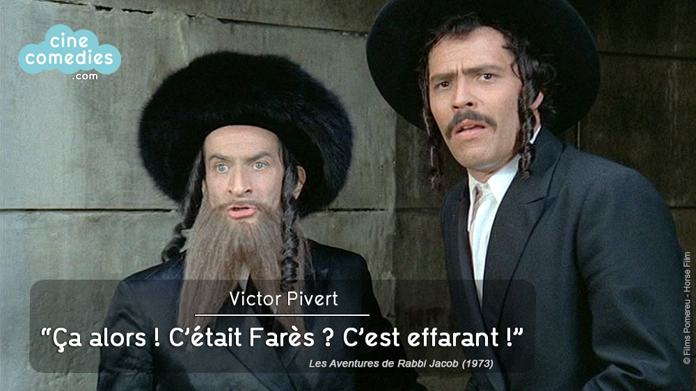 Les v ritables aventures de rabbi jacob cinecomedies for Dans rabbi jacob