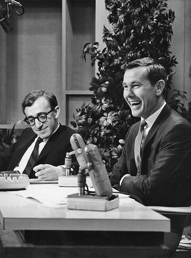 Woody Allen et Johnny Carson