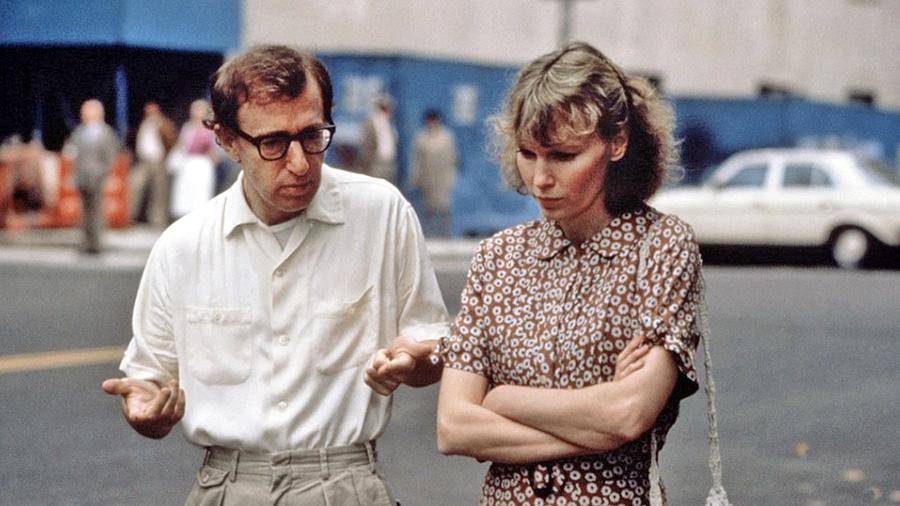 Avec Mia Farrow dans Hannah et ses sœurs (Woody Allen, 1986)