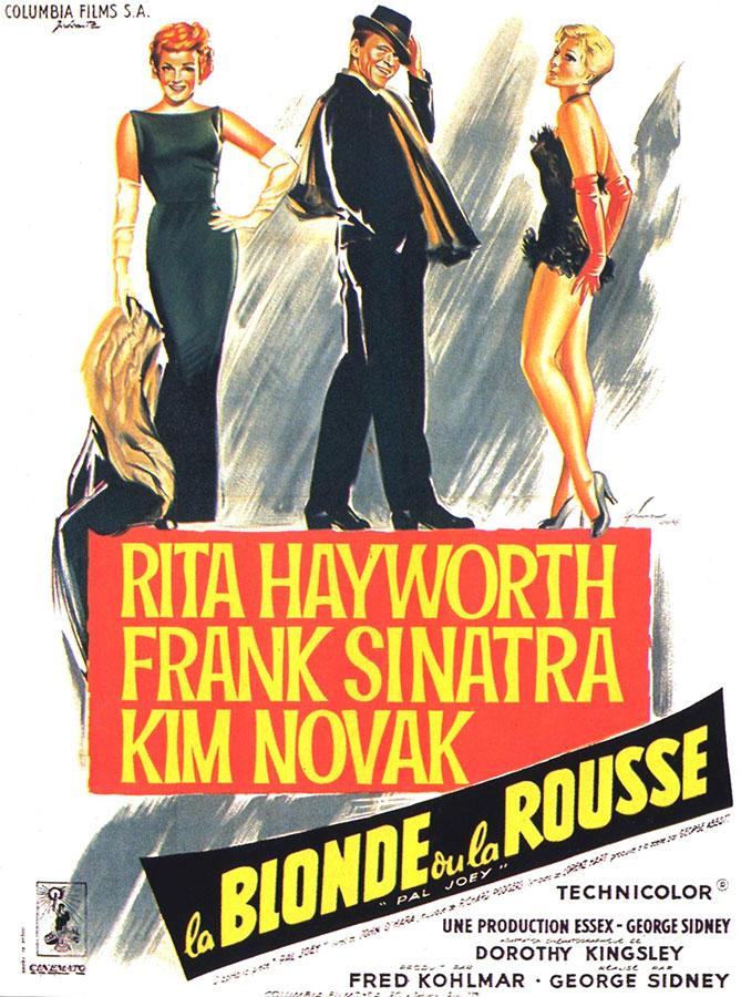 La Blonde ou la rousse (George Sidney, 1958)