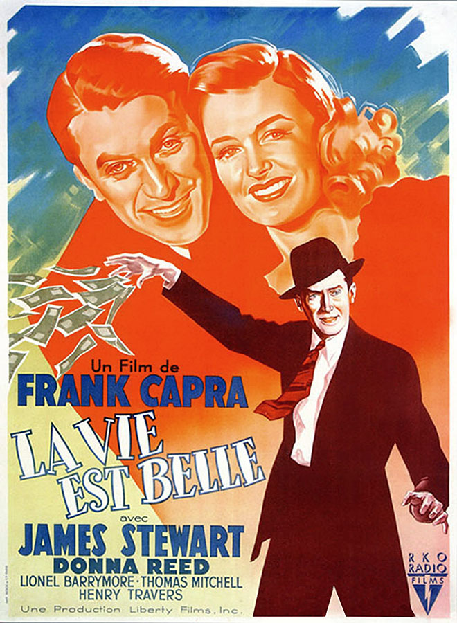 La Vie est belle (It's A Wonderful Life) de Frank Capra (1946)