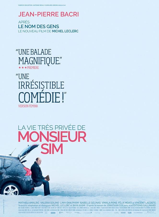 La Vie très privée de Monsieur Sim (Michel Leclerc, 2015)