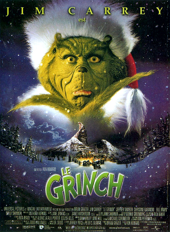Le Grinch / How the Grinch Stole Christmas (Ron Howard, 2000)
