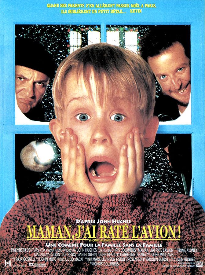 Maman j'ai raté l'avion / Home Alone (Chris Columbus, 1990)