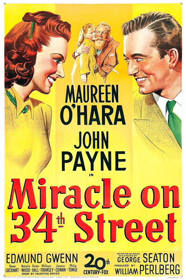 Miracle sur la 34ème rue / Miracle on 34th Street (George Seaton, 1947)