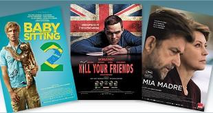 Toutes les sorties Comédie du 2 décembre 2015 : Babysitting 2, Kill Your Friends, Mia Madre.